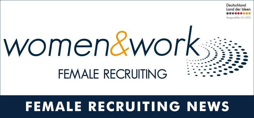 Header für NewsLetter_Female Recruiting News